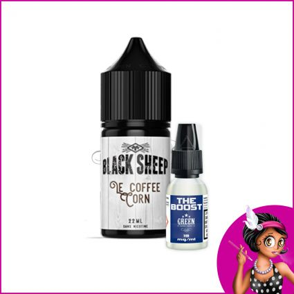 Eliquide Le Coffee Corn 22ml Black Sheep | Green Vapes